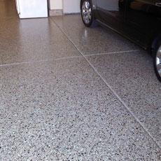 Commercial concrete floor epoxy