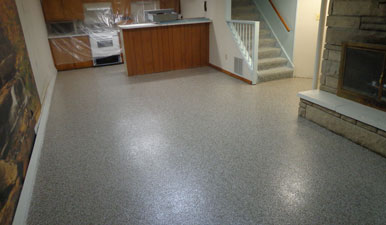 Epoxy Basement Flooring Columbus Oh