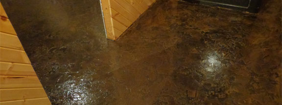 Concrete Basement Floor Epoxy Paint